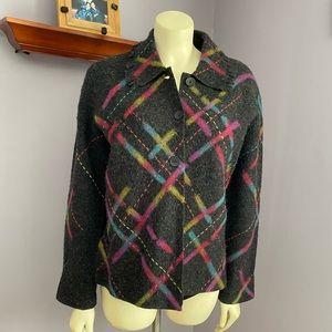 Talbots Boiled Wool Jacket